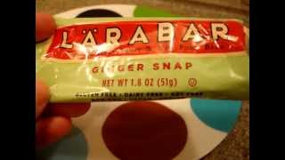 Larabars Fruit And Nut Bars Ginger Snap Product Review - Antioxidant-fruits