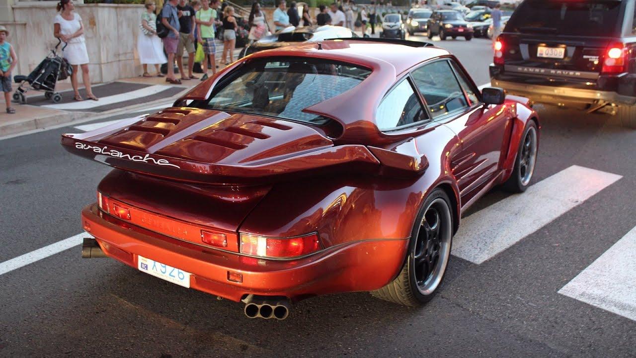 Rare Porsche 930 Turbo Slantnose Gemballa Avalanche In