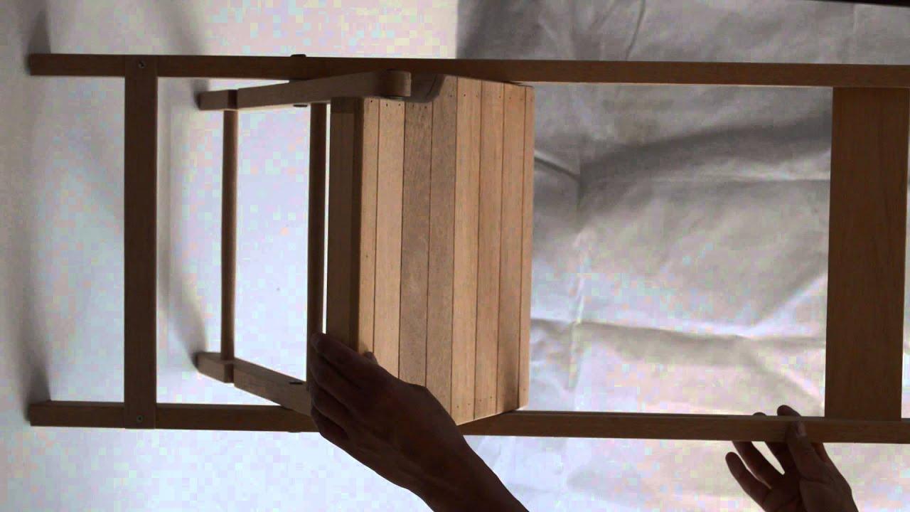 Silla plegable de banak dise o antiguo for Sillas plegables diseno