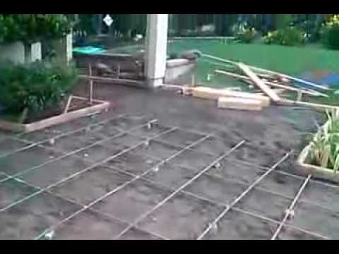 Veterans concrete,...pre-pour progress