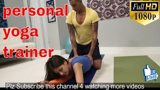 personal yoga trainer for young,young yoga class,amazing young yoga,hot fitness girls workout,