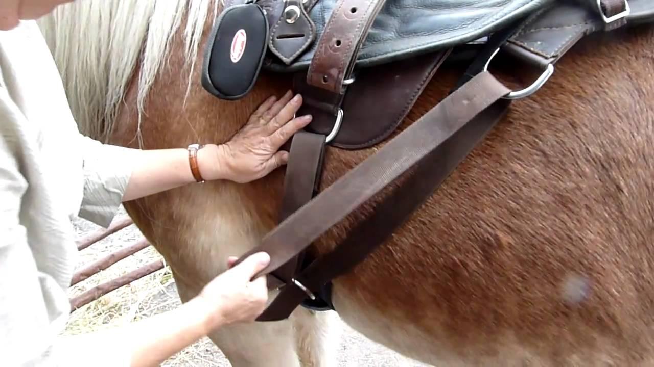 Girthing an Eduro Western Saddle