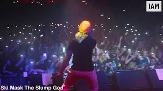 Ski Mask The Slump God live crazy stage dives @ SOLD OUT London show | THIS IS LDN [EP:206]