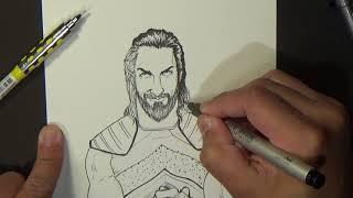 Seth Rollins Grand Slam IC Wrestlemania Speed drawing