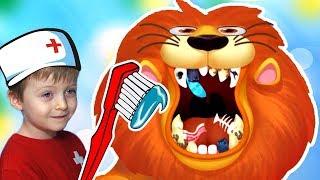 Маленький Доктор для Животных Сборник Игра для Детей Lion Boy
