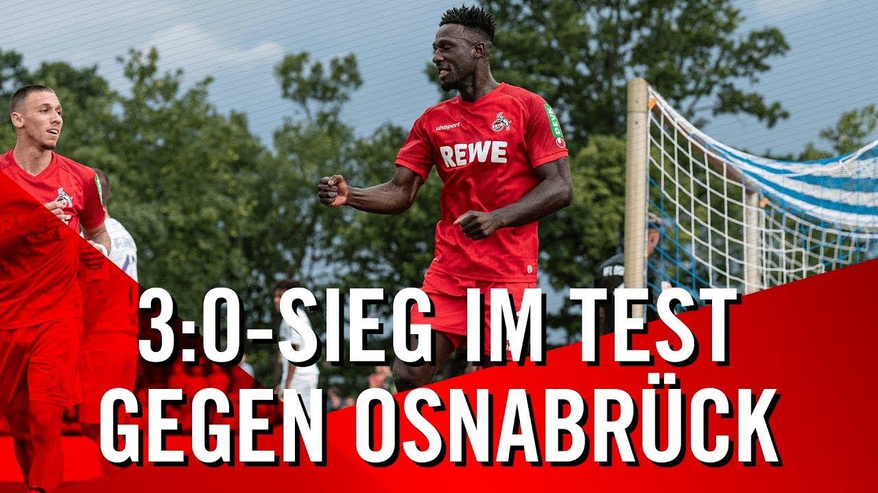 Als kleiner Appetizer bevor die Bundesliege wieder losgeht. 1. FC Köln schlägt den VfL Osnabrück mit 3:0