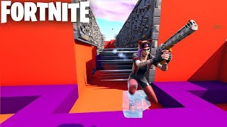 *AMAZING* OBSTACLE COURSE IN FORTNITE CREATIVE (CODES IN DESCRIPTION) AKE'S SKILL SLIDE