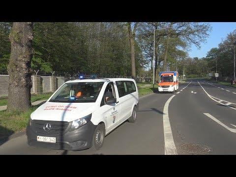 Einsatzfahrten Beim Verletztenrücktransport Am Militär-Flughafen Köln-Wahn Am 20.04.19