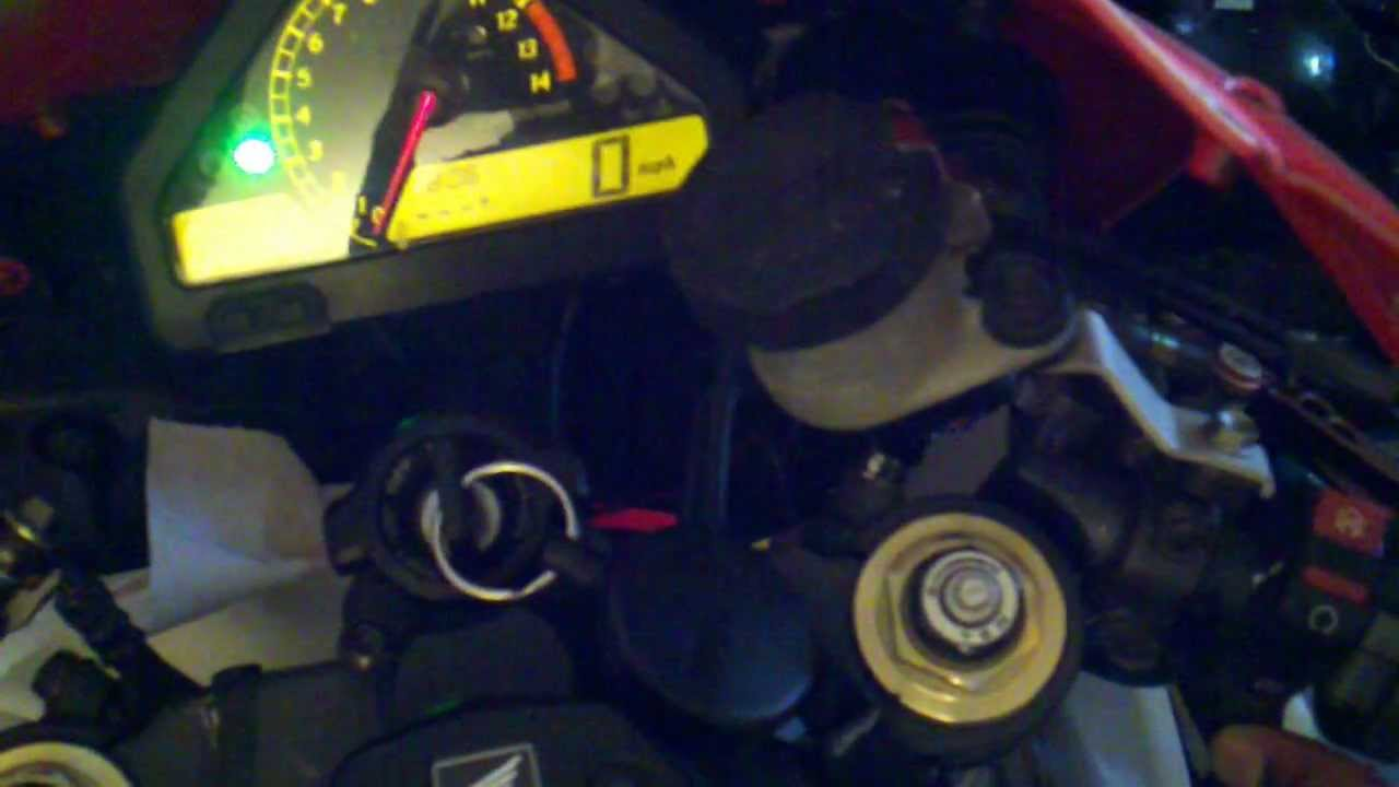 2006 Honda CBR1000rr won't start OGH!!!!!!  YouTube