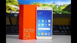 Xiaomi Redmi Note 5A - Initial Impression