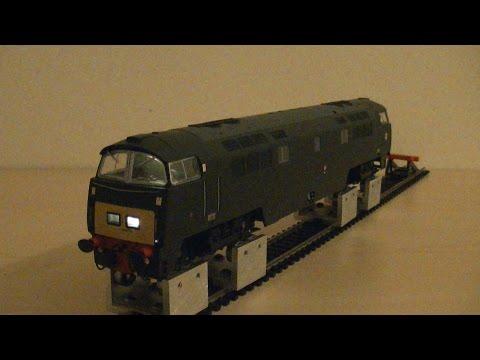 Dapol 4D-003-002 Class 52 BR Green D1038 Western Sovereign (OO Gauge) Review HD