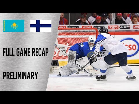 Finland vs Kazakhstan Full Game Highlights | December 29, WJC 2020