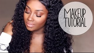 Makeup Tutorial | Warm Tones for a Summer Night Out!