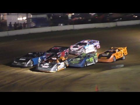 Crate Late Model Heat Four | McKean County Raceway | Fall Classic | 10-14-16