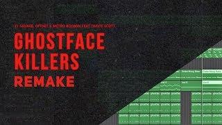 Making a Beat: 21 Savage, Offset & Metro Boomin - Ghostface Killers Ft Travis Scott (Remake)