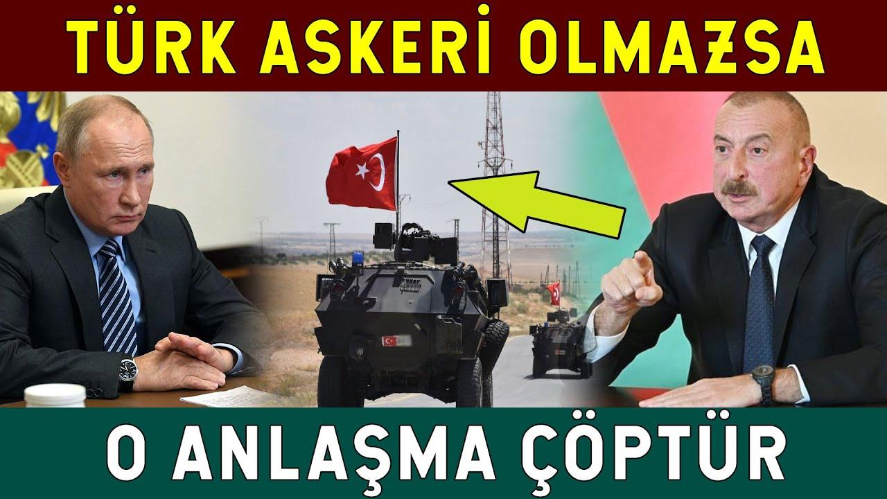 Ruslar Erken Sevinmesin! Türk Askeri Gerekeni Yapacak!