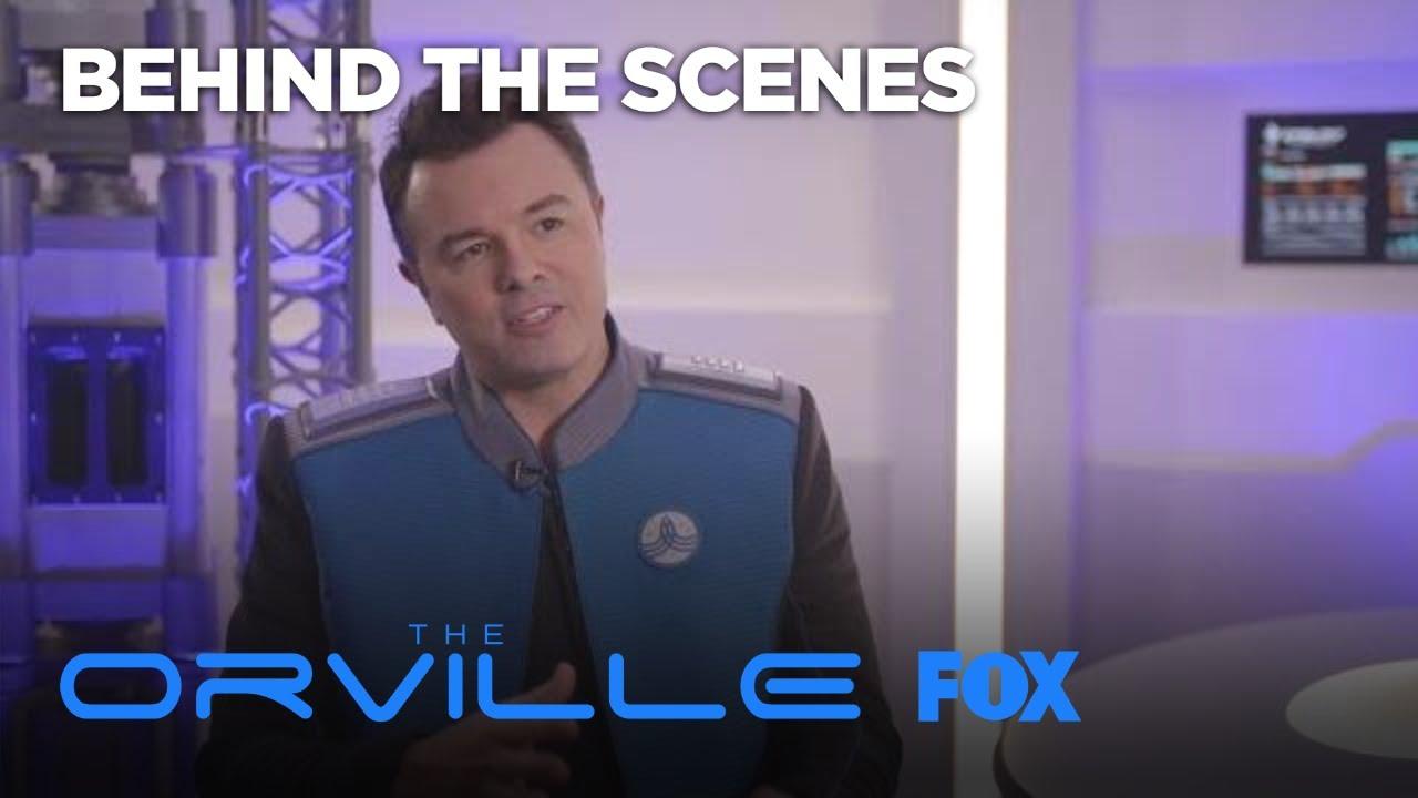 Download Seth MacFarlane Explains How The Orville Takes Flight | Season 1 | THE ORVILLE