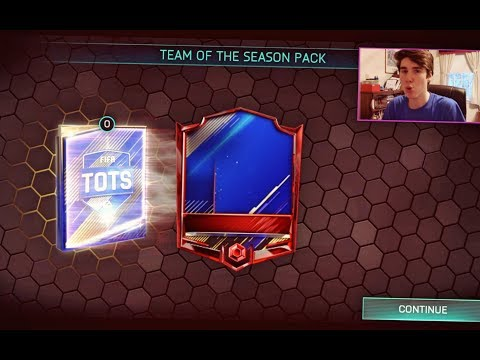 FIFA Mobile 18 TOTS Pack Opening!! LA LIGA & EPL TOTS PACKS! Team of the Season Bundle and Packs!