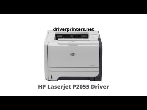 HP Laserjet P2055 Driver install
