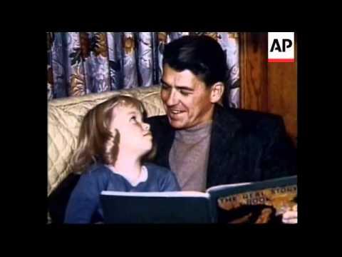Maureen Reagan, Ronald Reagan's daughter's funeral