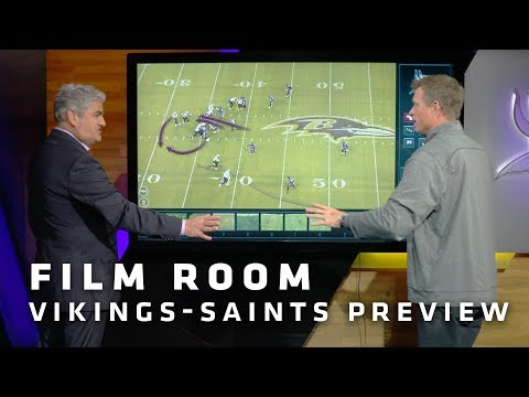 Film Room: Creativity, Deception, and Misdirection Define New Orleans Saints Offense | Vikings