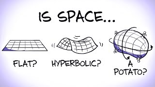 What Is The Shape of Space? (ft. PhD Comics) by : minutephysics