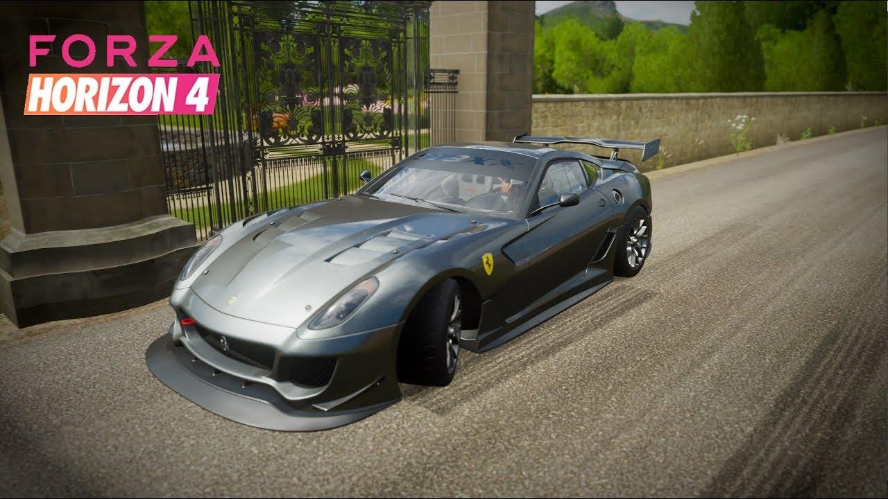Ferrari 599xx Race Tuning Forza Horizon 4 Youtube