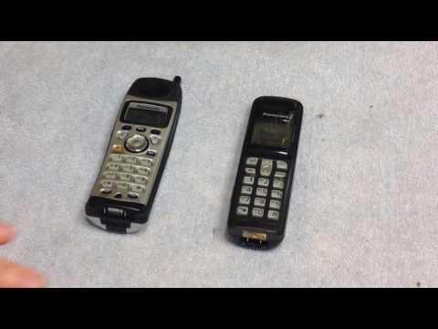 Panasonic Telephone Repair: Handsets Blanking Out