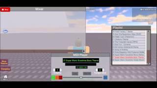 ROBLOX Super Mario Sunshine Boss Battle Thema MIDI