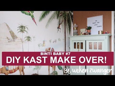 Babykamer Diy Vintage Kast Restylen Binti Baby 7 Binti