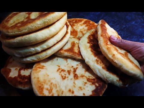 2 Рецепта Пышные и Воздушные  Лепешки с начинкой на Сковородке / Tasty Pastries