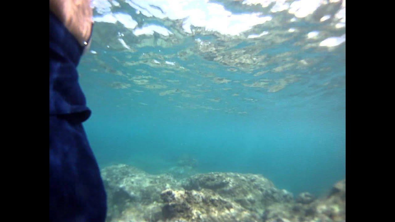 Snorkeling At Three Tables Beach Oahu