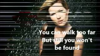 Dido - One Step Too Far with lyrics