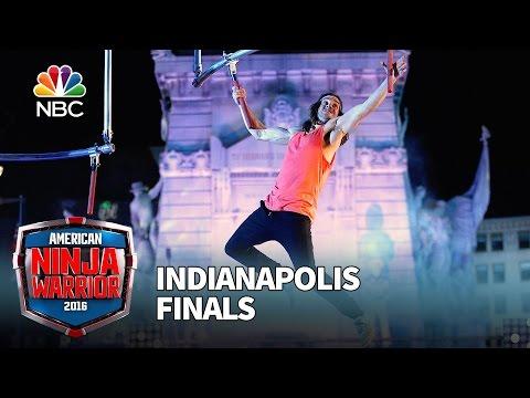 Jake Murray at the Indianapolis Finals - American Ninja Warrior 2016