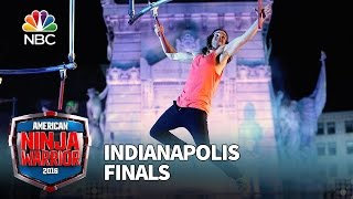 Jake Murray at the Indianapolis Finals - American Ninja Warrior 2016