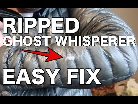 Repair Ripped And Torn Nylon Fabric The Easy Way!