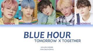 Download lagu [Han|Rom|Eng] TXT (투모로우바이투게더) - Blue Hour (Full Ver.) (Color Coded) | by DreamyLip