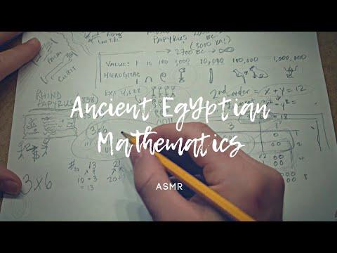Ancient Egyptian Mathematics & History (math) | ASMR Whisper