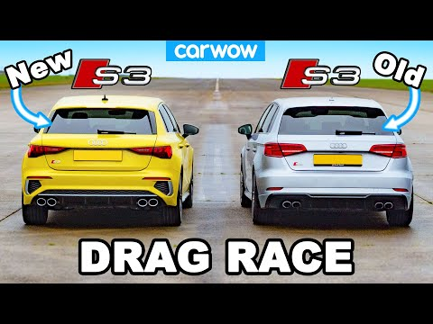 New Audi S3 vs old S3: DRAG RACE *Is it any quicker?*