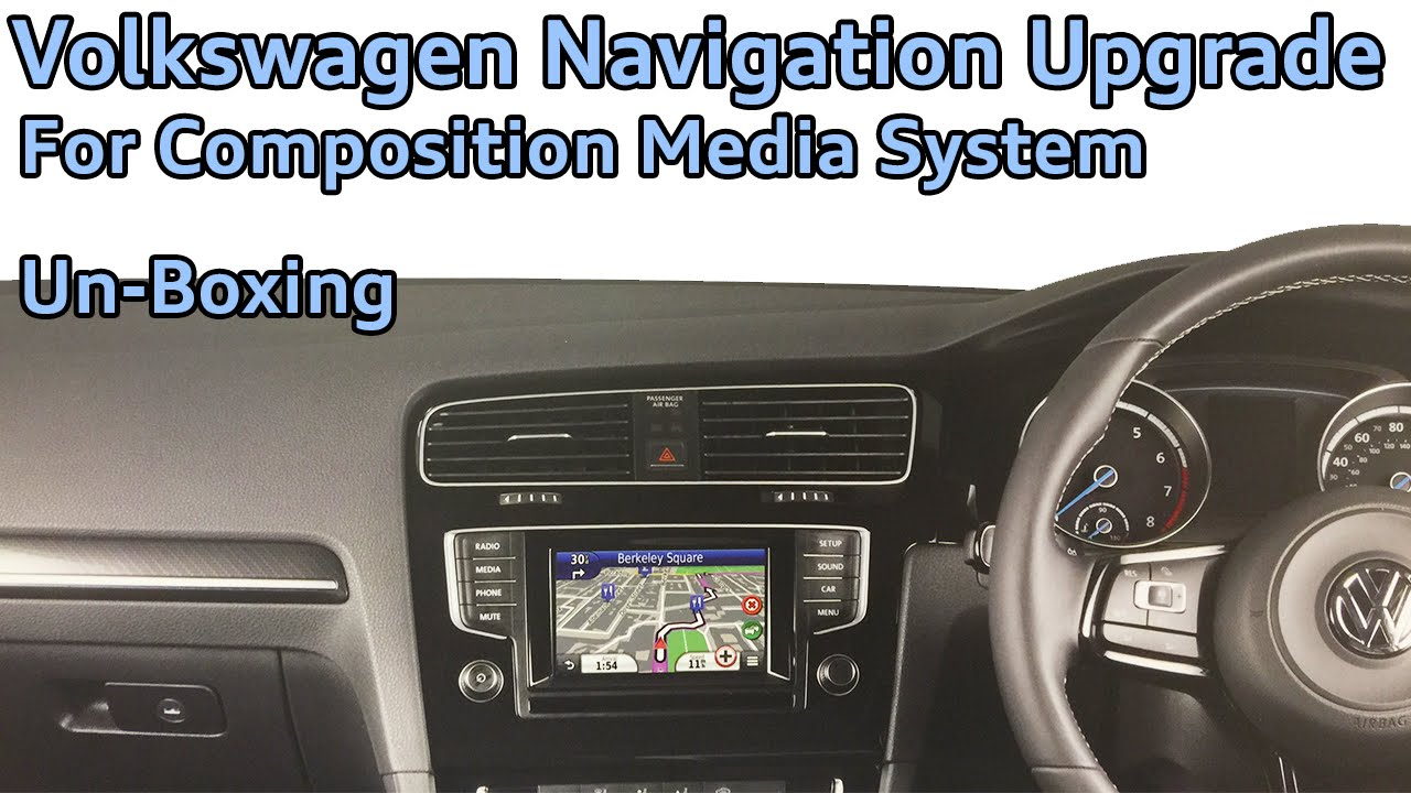 volkswagen composition media navigation upgrade by kenwood. Black Bedroom Furniture Sets. Home Design Ideas