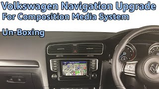 Volkswagen Composition Media Navigation Upgrade by Kenwood Un-Boxing