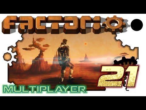 Factorio AMASS *Multiplayer* - 21. Liquid Fuel