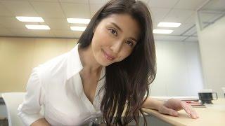 橋本マナミが近すぎてドキドキ!二人きりで会議室に!? 無料アプリ「JAFデジタル会員証」PR WEBムービー「教えて!マナミ先輩」 #Manami Hashimoto #WEB movie