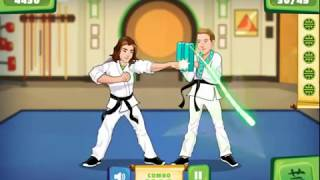Colorful game - Kungfu Sparring funny cartoon for kid
