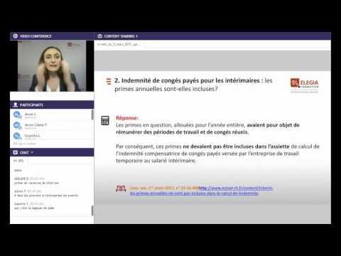 Indemnité De Congés Payés Pour Les Intérimaires: Les Primes Annuelles Sont-elles Incluses?