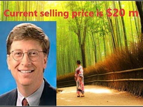 Bill Gates House for sale in Kyoto,Japan