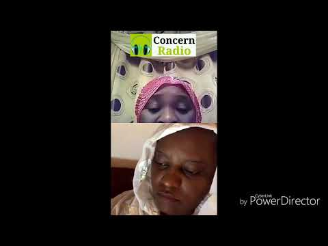 Fatu camara endorsing Rohey malick lowe for banjul mayoress 2018
