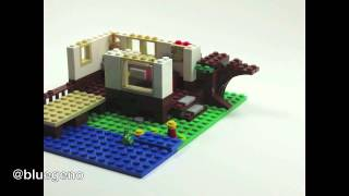 Lego Stop Motion Creator Tree House 3in1 31010 Time Lapse