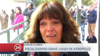 Fiscalizadora es atropellada en Maipú tras ser empujada por evasor del Transantiago