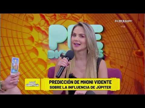 Mhonividente en Aqui Contigo 7/15/2020 Nuevas Predicciones
